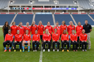 Chicago Red Stars team group picture