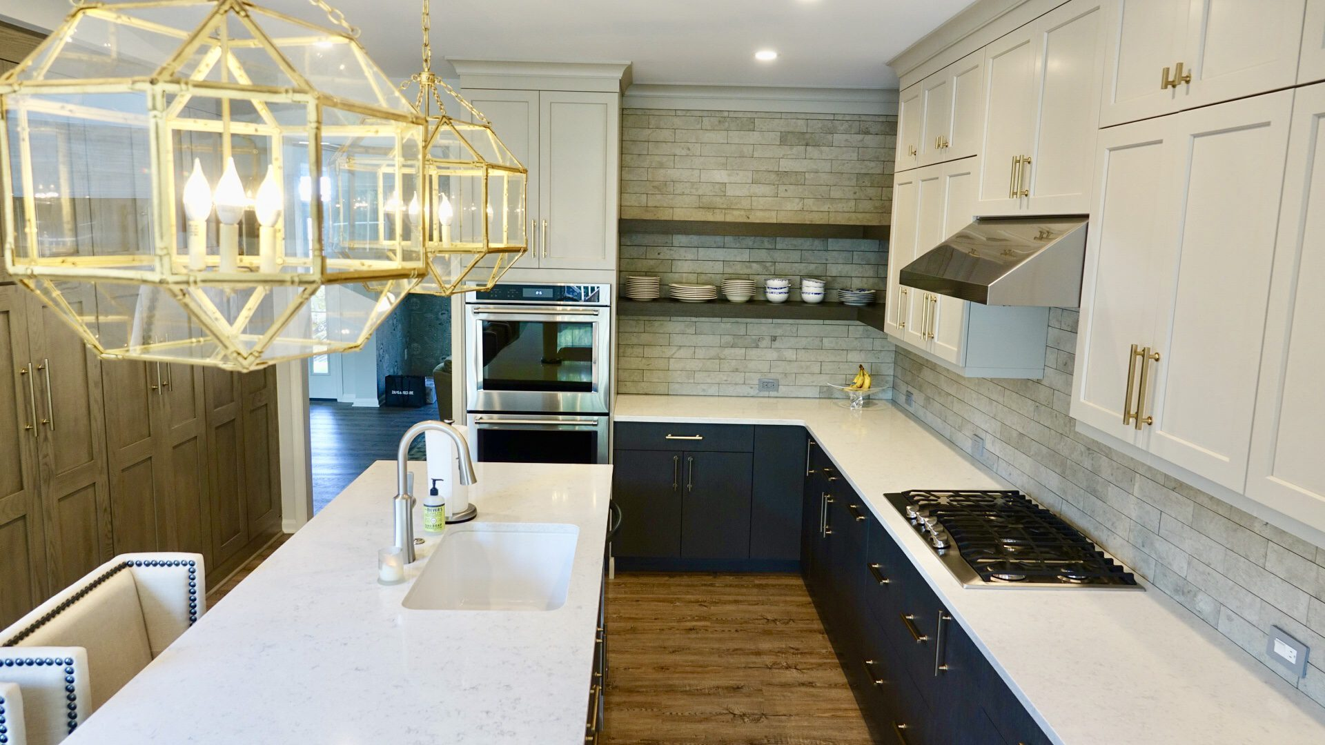 Three-Toned Kitchen