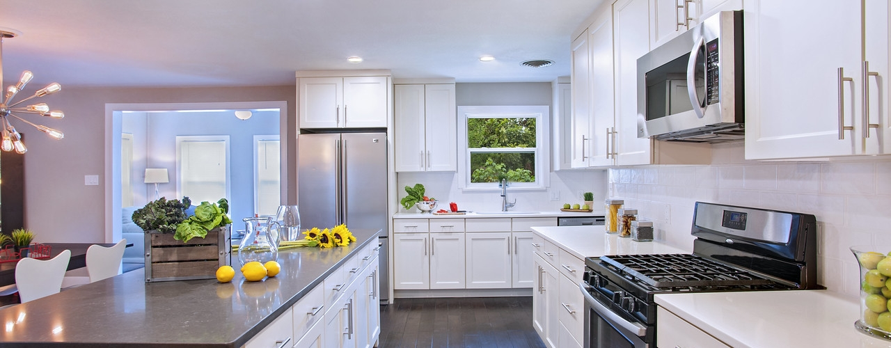 White Kitchen Designs in NJ Cabinets Direct USA