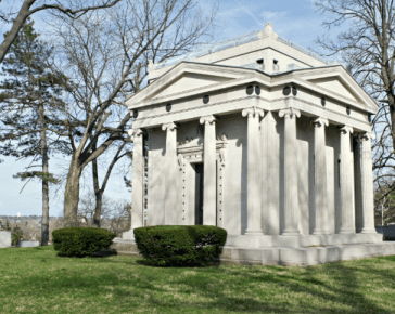 Above-ground burial options