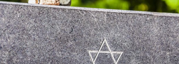 Headstone with Star of David