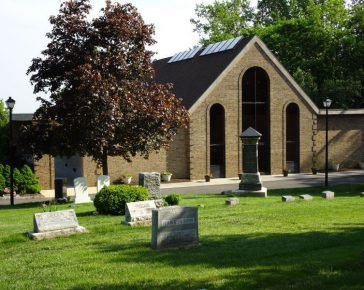 mausoleum and cemetery