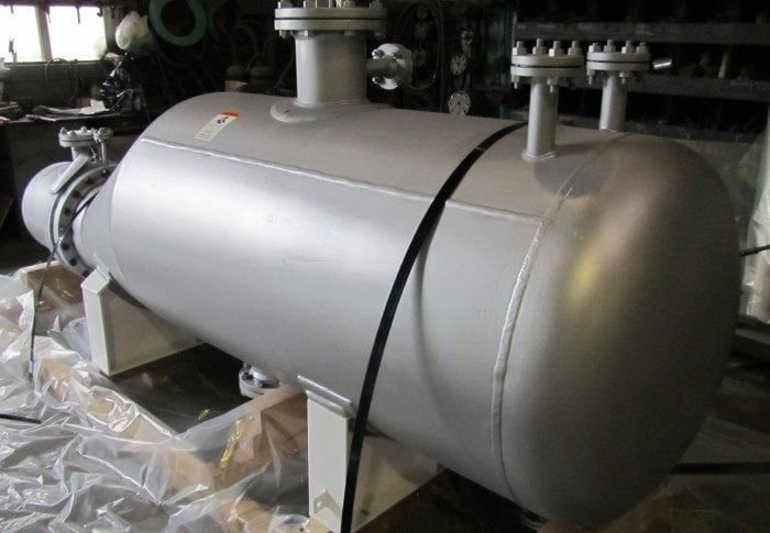 Kettle Reboiler with Double Tubesheet and Leak Detection Gap